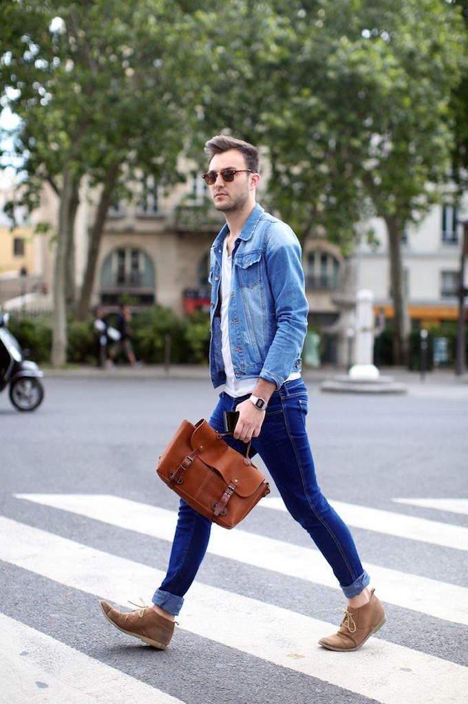 デニムシャツ メンズ 人気ブランド(H\u0026MやGU)を中心にコーデや着こなしを紹介!2016
