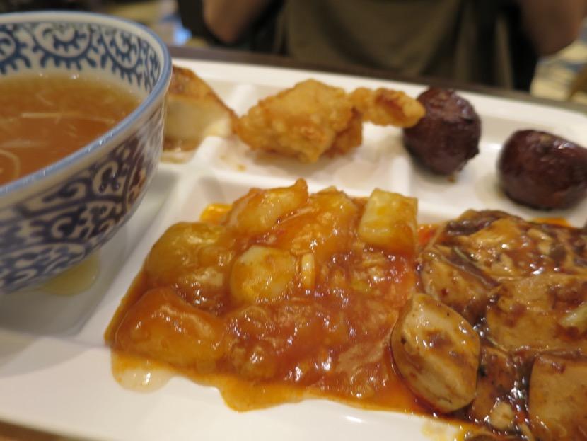 名古屋の中華料理食べ放題ビュッフェ モゾの上海柿安 結構美味しくて